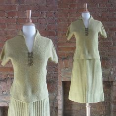 Hey, I found this really awesome Etsy listing at https://www.etsy.com/listing/174716294/1950s-kimberly-buttercup-yellow-wool