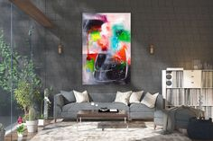 Large Modern Wall Art Painting,Large Abstract wall art,texture art painting,abstract originals,bathroom wall art FY0083