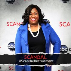#ScandalRecruitment Reason 21: The writing for #Scandal is UNREAL! Shonda Rhimes will leave you speechless after every episode. We don't know how she does it, but we are glad she does.