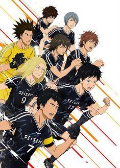 "New Key Visual For ""DAYS"" Soccer Anime, Opening Theme Artist Revealed"