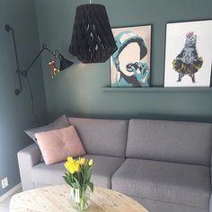 SeeMe og Bamsemums trives så godt hjemme hos @stinegskjerveggen  Ha en flott søndag alle sammen!