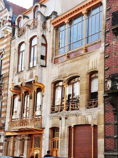 Fachada Casa Estudio Víctor Horta - Art nouveau – Wikipédia, a enciclopédia livre