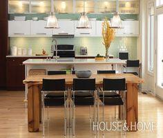 Modern Rustic Kitchen Design | House & Home