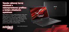 ASUS ROG Gaming Notebook - Nové herné notebooky ROG s procesormi Intel 4. generácie a grafickou kartou NVIDIA® GeForce® GTX 860M, 970M a 980M.