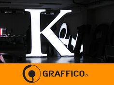 Signage manufacturer, illuminated signage, signs assembly, montaż produkcja reklam, producent reklam, Graffico, pylon signage, 3D  signs, channel letters, illuminated letters, illuminated pylons,  litery 3D, litery aluminiowe, litery blokowe, reklama świetlna, producent reklam świetlnych, producent reklam Toruń, litery led, neon, podświetlane logo, illuminated lettering, illuminated logo