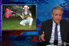 "Jon Stewart calls out Fox News for Charleston hypocrisy: It's only ""politicizing a tragedy"" if Fox doesn't like it"