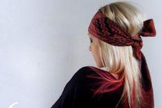 Ten Very Cool Ways to Tie a Headscarf: Headscarf Headband