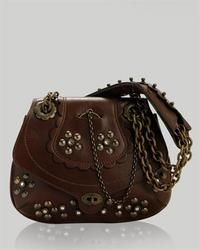 Antonio Berardi Leather Studded Handbag