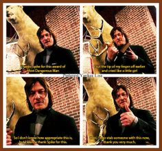 Norman Reedus - Daryl Dixon - The Walking Dead Cast