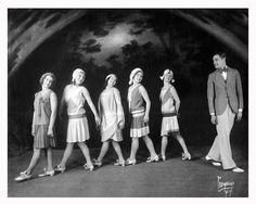 Lovejoy Dancers -Circa 1930 by btm2222, via Flickr