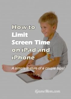 How to limit screen time on ipad iphone? With this simple feature of just a couple of clicks in the device setting. Now parents can have better control on time kids spend mobile devices, as well as the apps they use. Parenting is easier with the rules set by technology itself.