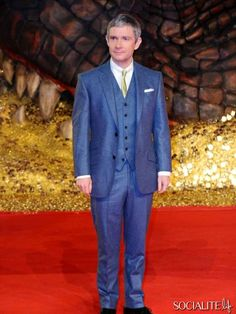 Martin Freeman - Celebrities Attend 'The Hobbit: The Desolation Of Smaug' Premiere In Berlin