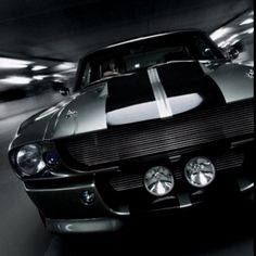 """1967 Mustang """"Eleanor""""... One day she will be mine. Oh yes, she will be mine......"""