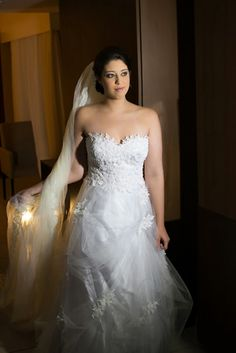 Vestido da noiva: Ateliê Rejane Nogueira