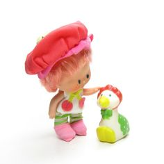 Cherry Cuddler Doll with Pet Gooseberry