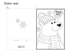 'Thank You' Coloring Page For Grown Ups this is a