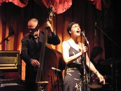 Kitt Lough at Rosie O'Grady's old 20's 30's swing watching the old classics dance to her music was the best part!