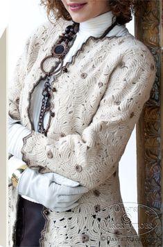 Безотрывное вязание для наборного полотна (фриформ и кружево) - Ярмарка Мастеров - ручная работа, handmade