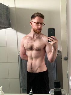 Ginger Beard, Sexy Men, Hot Men, Hot Hunks, Hairy Chest, Male Form, Mens Glasses, Dream Guy, Hairy Men