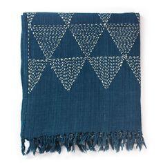 Indigo kantha stitched scarves  https://www.clothhouse.com/product_group/indigo_kantha_scarf/