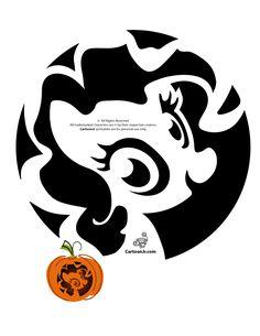 Cute My Little Pony Pumpkin Patterns Sweet My Little Pony Pumpkin Carving Pattern – Cartoon Jr.