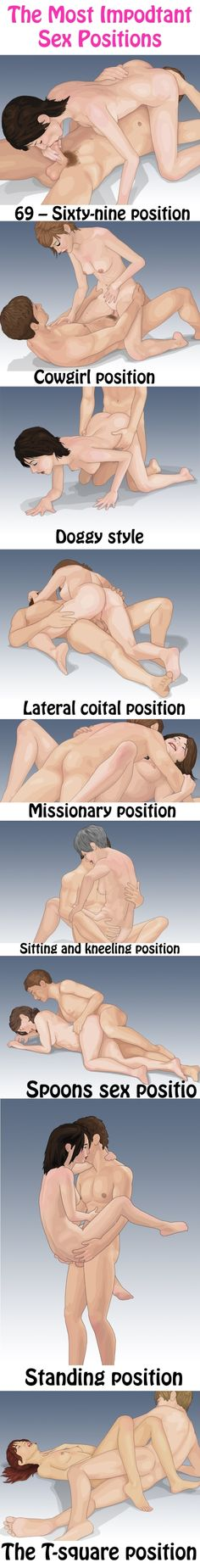 The Most Important Sex Positions