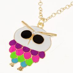 New Fashion Lovely Owl Pendant Gold Plated Long Necklace #owl #necklace www.loveitsomuch.com