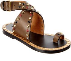 Isabel Marant Jaeryn Leather Sandal