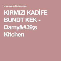 KIRMIZI KADİFE BUNDT KEK - Damy's Kitchen