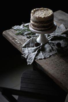 Orange poppyseed layer cake by Agnieszka Krach / na krachym spodzie