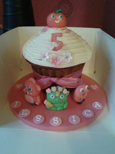 Moshi Monsters Mega Cupcake