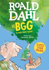 French language edition of 'The Big Friendly Giant (BFG)' by Roald Dahl. UK stockist with worldwide delivery. Quentin Blake, 100 Books To Read, Fantasy Books To Read, Good Books, Bfg Roald Dahl, Next Children, Films Cinema, Cartoon Books, Fantastic Mr Fox