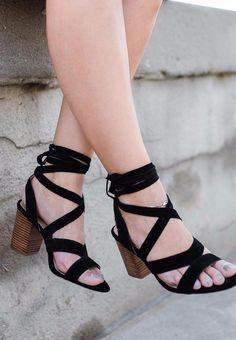 Lyla Block Heel   Sole Society