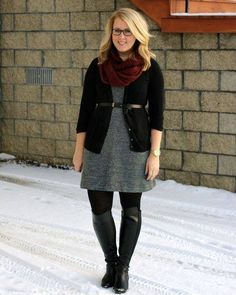 33 Stylish and Trendy Work Outfit Ideas For The Plus Size Women size fashi. 33 Stylish and Trendy Work Outfit Ideas For The Plus Size Women size fashion for women work 33 Stylish and Trendy Work Outfit Ideas For The Plus. Winter Outfits For Teen Girls, Fall Outfits For Work, Casual Work Outfits, Business Casual Outfits, Mode Outfits, Work Attire, Office Outfits, Layering Outfits, School Outfits
