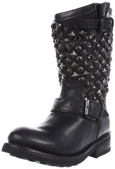 Ash Women's Tokyo Biker Studded Boot. Would absolutely wear if suddenly rich.