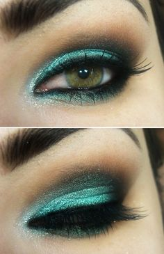 A Turquoise Make Up