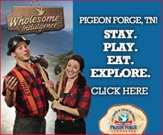City of Pigeon Forge. #Pigeon #Forge #Tennessee #attractions #fun #family