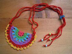 Sunshine Home Decor: Örgü takılar, küpe, kolye, bileklik- crochet ,earring,necklace,bracelet