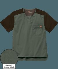 Carhartt Scrubs Men's Color Block Top is made to withstand the wear and tear of your demanding job. For lightweight, durable scrubs, shop Carhartt Scrubs at UA! Carhartt, Firefighter, Scrubs, Spiderman, Sewing Patterns, Mens Tops, How To Wear, Clothes, Shopping