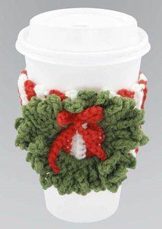 Crochet Christmas Cup Cosy