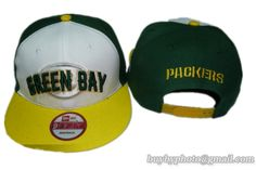 3a0d8b0d07e Green Bay Packers Snapback Hat Old Style NFL Adjustable Cap White Yellow.  Hats styles