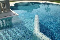 M+ Pools - Design and Wellness #mosaicopiu #mosaic #mosaico #Aqua #swimmingpool…