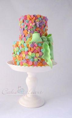 Confetti cake - by Cake Heart