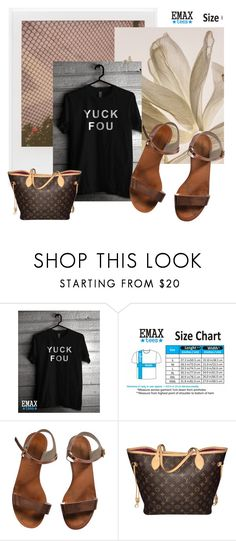 """""""EmaxTees  4"""" by k-lole ❤ liked on Polyvore featuring Impossible Project, Emporio Armani and Louis Vuitton"""
