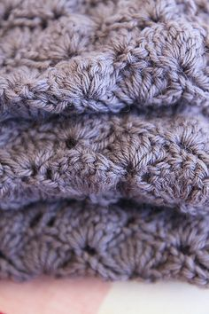 The pattern is the Angel scarf - http://www.ravelry.com/projects/OneFlewOver/angel-crochet-scarf