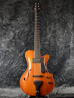 YAMAOKA ARCHTOP GUITARS Strings Art K-4 Natural