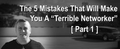 """You're probably wondering why I call myself the """"Terrible Networker"""" (and with good reason). Why DO I call myself that? After all, I'm a Terrific Networker now  My story goes back to the early 1990's when I was first introduced to network marketing before the internet really gained traction, and back when all recruiting …"""