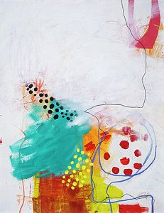 Abstract Painting - Bio Diverse City#2 by Jane Davies