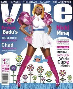 Nicki Minaj Cover Vibe Magazine