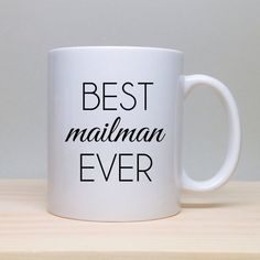 Christmas Gift Gift For Mailman Birthday Gift by TheCoffeeCorner